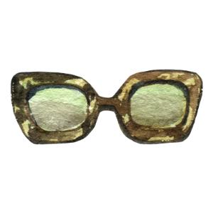 watercolor digital image of sunglasses